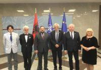 Wizyta Polsko-Bałkańskiej Grupy Parlamentarnej w Albanii