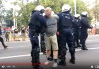 Policja strzela do obrońców normalności