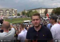 Wojna policji z Narodem w Białymstoku! Strzały na ulicach!
