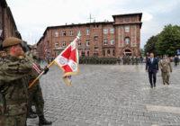 Prezydent na przysiędze żołnierzy Wojsk Obrony Terytorialnej